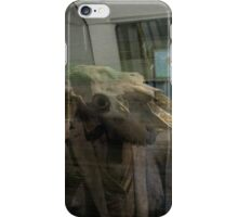 Subway window reflection iPhone Case/Skin