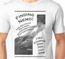 Finding Nemo, Jules Vernes New Steampunk Book Unisex T-Shirt