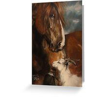 Aramis and Berta Greeting Card