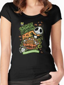 Snack O'Lanterns! Women's Fitted Scoop T-Shirt