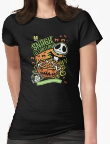 Snack O'Lanterns! Womens Fitted T-Shirt