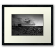 Sleeping by the Bay Framed Print