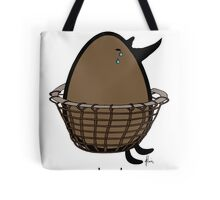poached egg Tote Bag