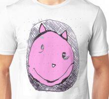 Dik in rosa Unisex T-Shirt