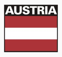 Austria Flag by FlagTown