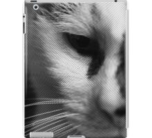 Black and White Cat iPad Case/Skin