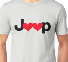 Jeep Love Unisex T-Shirt