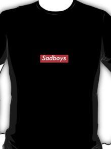 Sadboys Box Logo - SADBOYS & YUNG LEAN T-Shirt