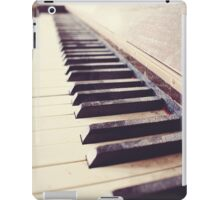 Vintage piano iPad Case/Skin