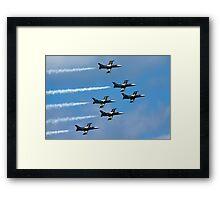 Breitling air display team L-39 Albatross Framed Print