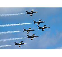 Breitling air display team L-39 Albatross Photographic Print