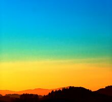 Colorful sundown scenic view | landscape photography by Patrick Jobst