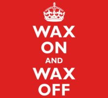 Wax On And Wax Off by TheGraphicGuru