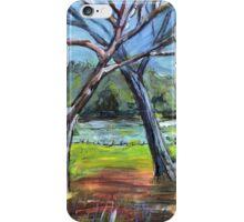 Sketching Trees iPhone Case/Skin