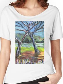 Sketching Trees Women's Relaxed Fit T-Shirt
