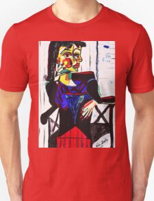 PICASSO PAINTING BY NORA  THE CHAIR Unisex T-Shirt