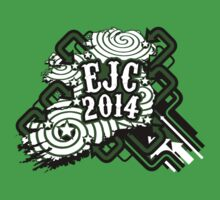 EJC 2014 promo shirt (sticker version) by MrDunne