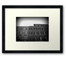 Rome, Renaissance architecture Framed Print