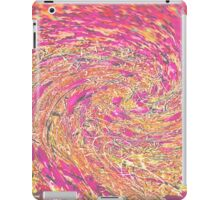 Pink Peach Swirl iPad Case/Skin