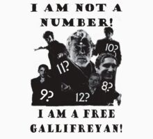 The Prisoner meets Dr Who, Numbers aren't everything Kids Tee