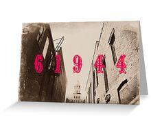 Paris, IL Greeting Card
