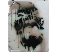 Graffiti art on window 2 iPad Case/Skin