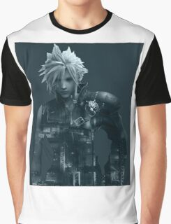 Cloud Final Fantasy VII Graphic T-Shirt