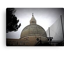Basilica of Saints Peter and Paul, the dome Canvas Print