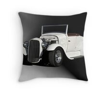 1929 Ford 'Casper' Roadster Throw Pillow