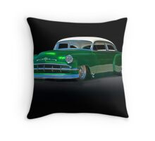 1954 Chevrolet Custom Coupe Throw Pillow