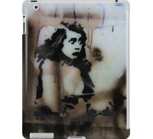 Graffiti art on window 3 iPad Case/Skin