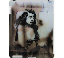 Graffiti art on window 3 iPad Case/Skin