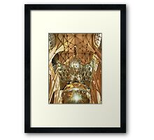 The Lectern Framed Print