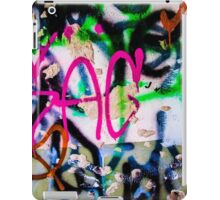 Simple graffiti iPad Case/Skin