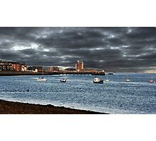Stormy Sky Broughty Ferry, Scotland.  Photographic Print
