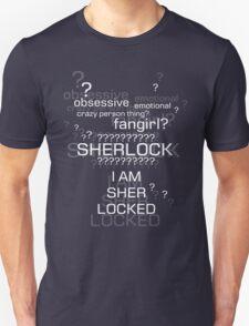Drunk Sherlock Fangirl Unisex T-Shirt