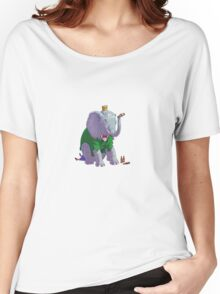elephant drunk Women's Relaxed Fit T-Shirt
