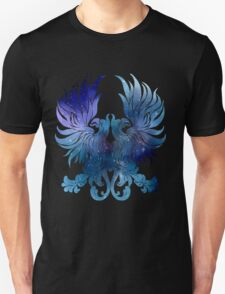 Gray Warden glaxy crest T-Shirt