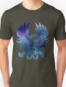 Gray Warden glaxy crest T-Shirt