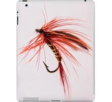 Fly fishing hook 2 iPad Case/Skin