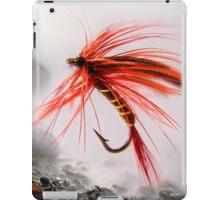 Fly fishing hook 3 iPad Case/Skin
