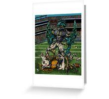 Seahawks vs Broncos Greeting Card