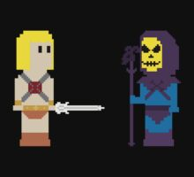 8-Bit Masters of the Universe by AlCreed