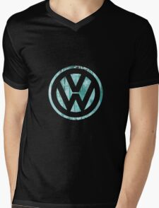 VW Grungy II Mens V-Neck T-Shirt