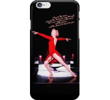 The Music and the Mirror iPhone Case/Skin