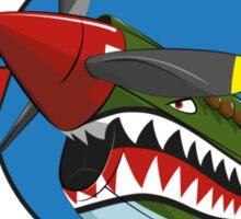 Warhawk Shark Nose Paint Sticker