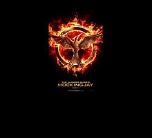 Mockingjay Movie Phone Case by elisabeth456