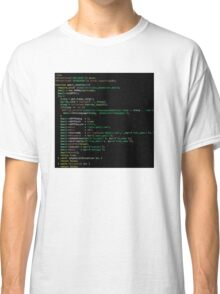 Php Code Graphic T-shirt Classic T-Shirt