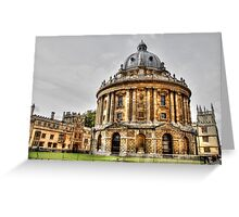 Bodleian Library Oxford Greeting Card