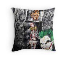 Harley & Mr. J Throw Pillow
